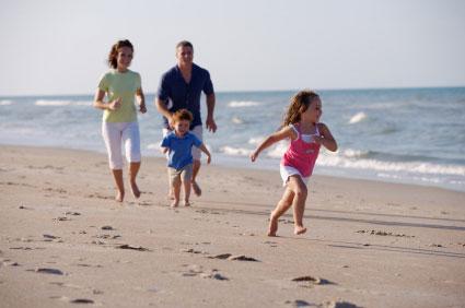 andrea woorwoch family beach