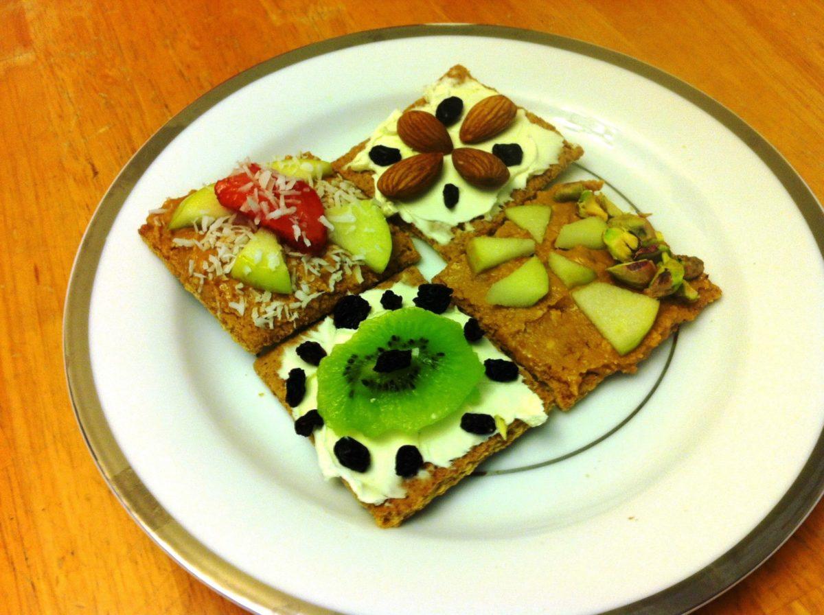 healthy snacks graham crackers