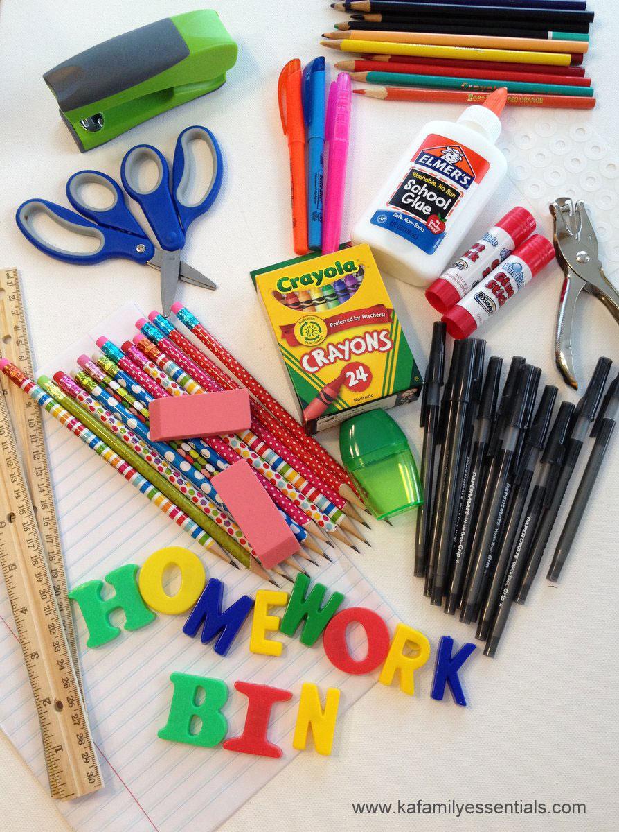 homework bin