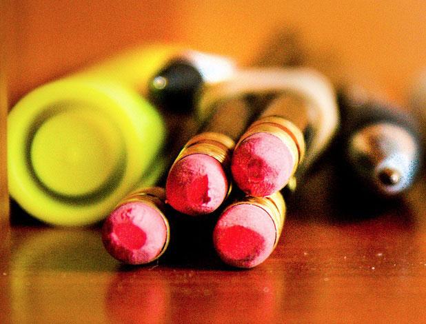 pencils highlighter