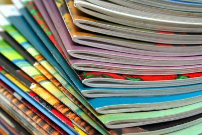 school notebooks in a pile
