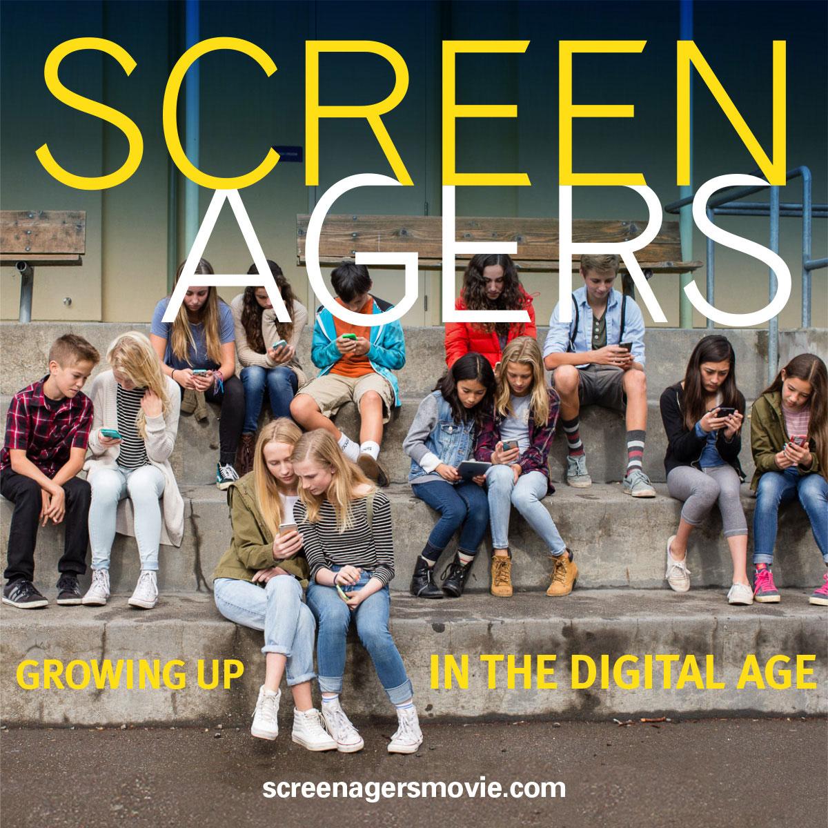 screenagers teenagers